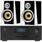 ROTEL RCX 1500 Black+B&W CM1S2 Negro