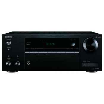 ONKYO TX-NR555-BK+ Cambridge SX50 Black Cinema Pack