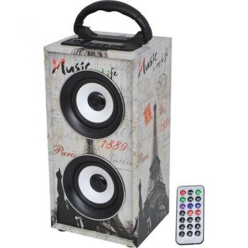 LTC FreeSound Paris Altavoz Bluetooth 12w