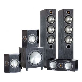 MONITOR AUDIO Bronze 6-AV Black, BRONZE 6 + BRONZECENTER + BRONZE FX,W10