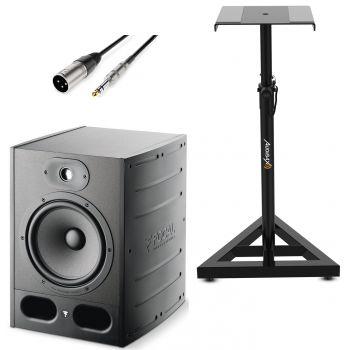 Focal ALPHA 80 Monitor Estudio con soporte ajustable y Cable Premium