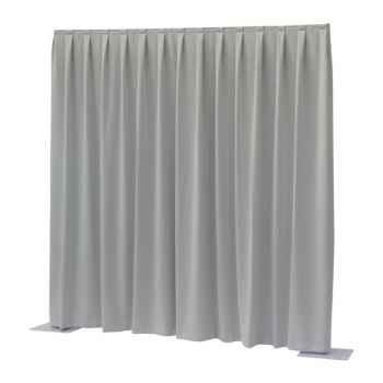 Showtec P D curtain Dimout Cortina Gris Claro 89446
