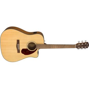 Fender Guitarra Acústica  CD-140SCE Natural + Estuche