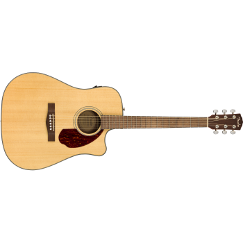 Fender CD-140SCE Natural + Estuche