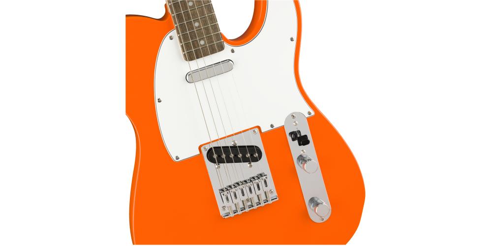 Fender Squier Affinity Telecaster LRL Orange pastilla