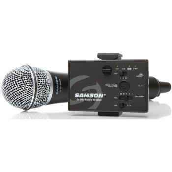 SAMSON GO MIC Mobile Handheld Sistema inalámbrico para Smartphones, tablets, camaras y PCs