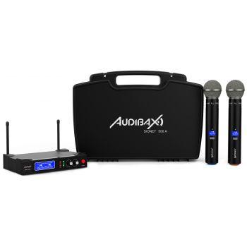 Audibax Sidney 500 A Micrófono Inalámbrico UHF Doble Mano ( REACONDICIONADO )