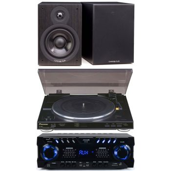 Equipo Hifi Audibax ZERO 1000 + Pioneer PL990 + Cambridge Audio SX50 Black
