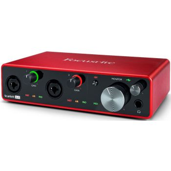 Focusrite Scarlett 4i4 3rd Gen Interface Audio