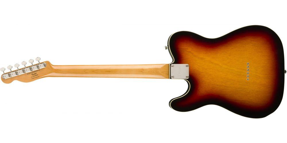 fender squier classic vibe 60s custom telecaster lrl 3ts back