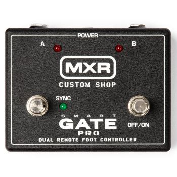 MXR M235FC Smart Gate Pro Foot Controller Pedal Complementario del Módulo de Rack m235 Smart Gate Pro Foot Controller