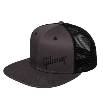 Gibson Charcoal Trucker Snapback Headwear Gorra