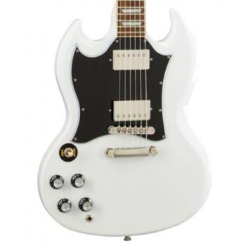 Epiphone SG Standard LH Alpine White Guitarra Eléctrica para Zurdos