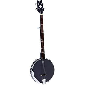 Ortega OBJE250OP-SBK Banjo Electrificado