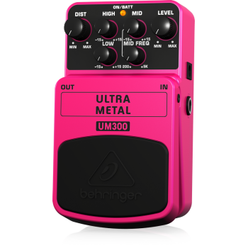 BEHRINGER UM300 Pedal Guitarra Efecto Ultra Metal