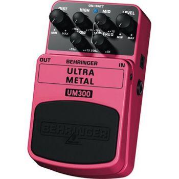 BEHRINGER Pedal  Guitarra Efecto Ultra Metal UM300 Behringer UM-300