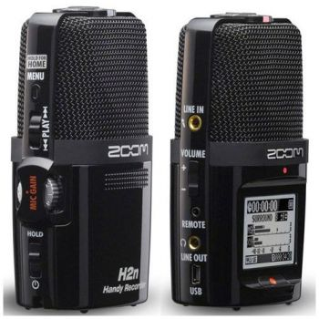 ZOOM H2N Grabador Digital  Portatil H-2N