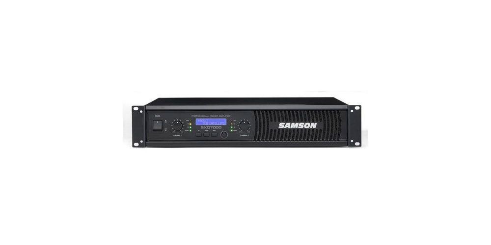 SAMSON SXD-7000 Etapa Potencia 1000W X 2 Unidad