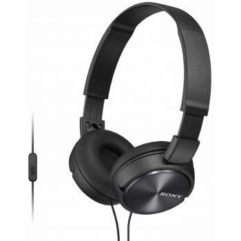 SONY MDR-ZX310AP B Negro Auricular Plegable con Micrófono
