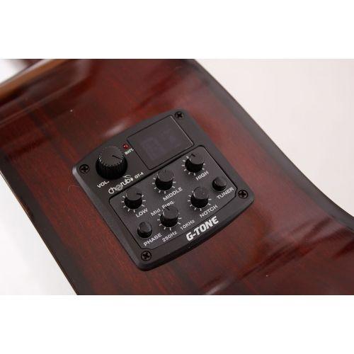 OSCAR SCHMIDT OC 06 CE  Guitarra Clasica Electrificada Natural