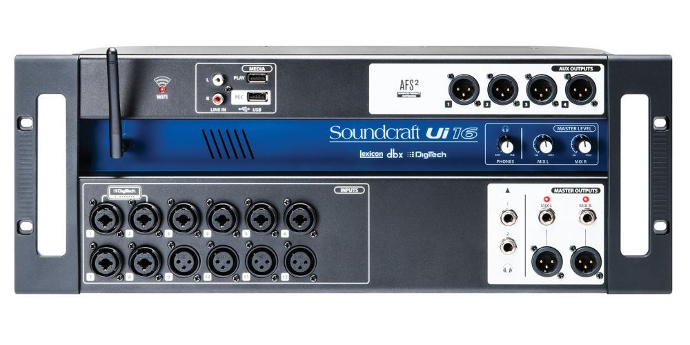 comprar soundcraft ui16