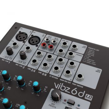 LD SYSTEMS VIBZ 6 D Mesa Directo