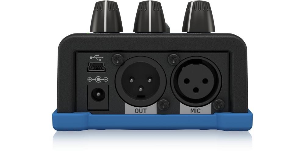 tc helicon voicetone c1 pedal efectos