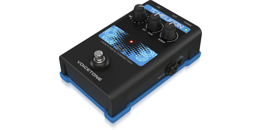 tc helicon voicetone c1 pedal