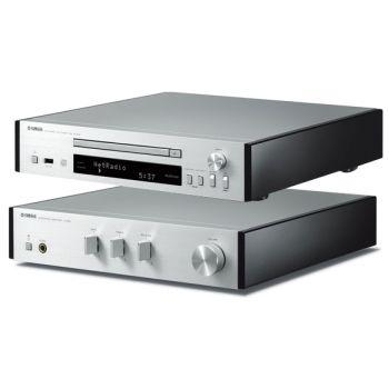 Yamaha MCR-N870 Silver Micro cadena Musiccast