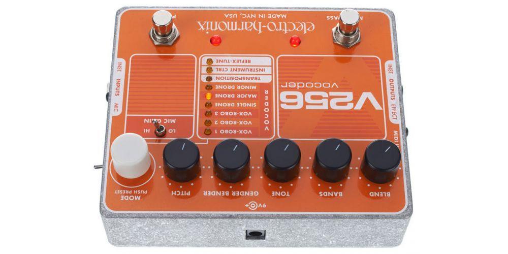 electro harmonix xo v256 vocoder 2