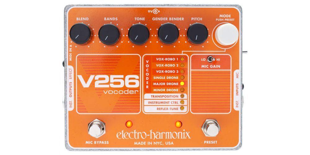 electro harmonix xo v256 vocoder 3
