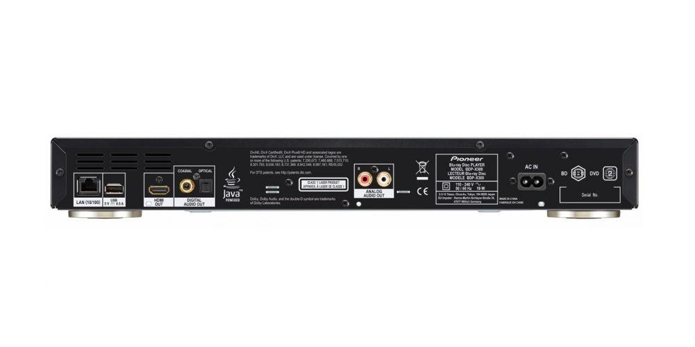 pioneer bdp x300 black conexiones