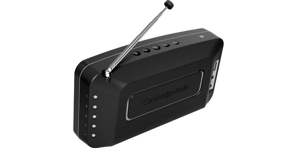 cambridge goradio negro conexion