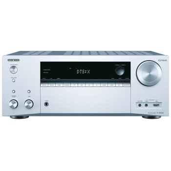 ONKYO TX-NR656-Silver + Cambridge SX-50 Walnut Cinema Pack