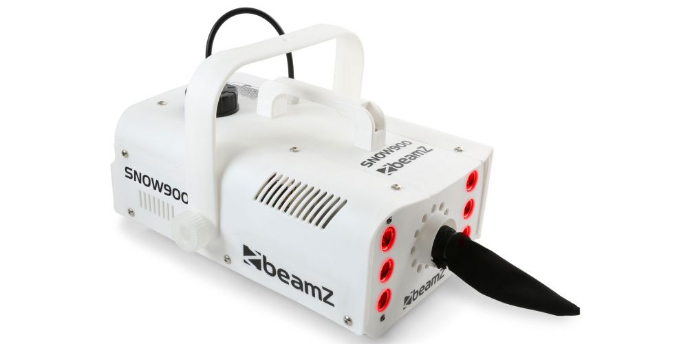 Maquina de nieve con 6 LEDs Beamz SNOW 900LED