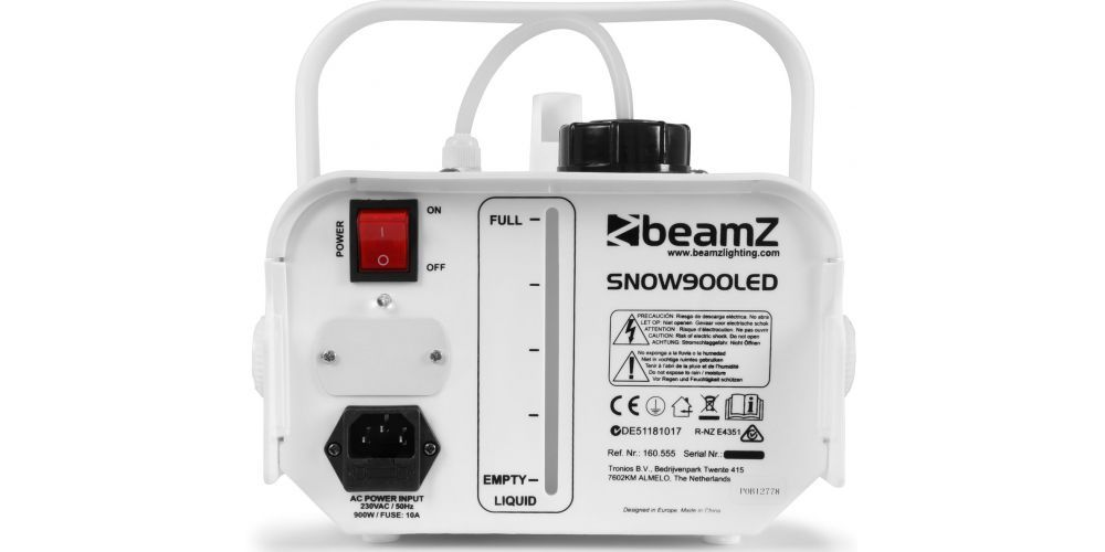 oferta Maquina de nieve con 6 LEDs Beamz SNOW 900LED