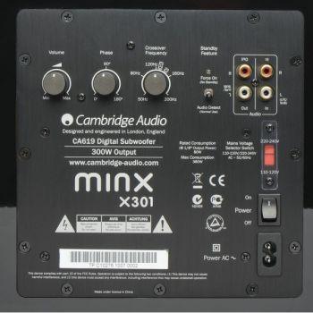 CAMBRIDGE MINX12 BLACK Cinema Pack + X301 SUB