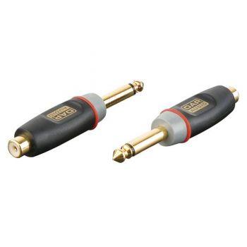 DAP Audio XGA06 Adaptador RCA Hembra / Jack Mono Macho