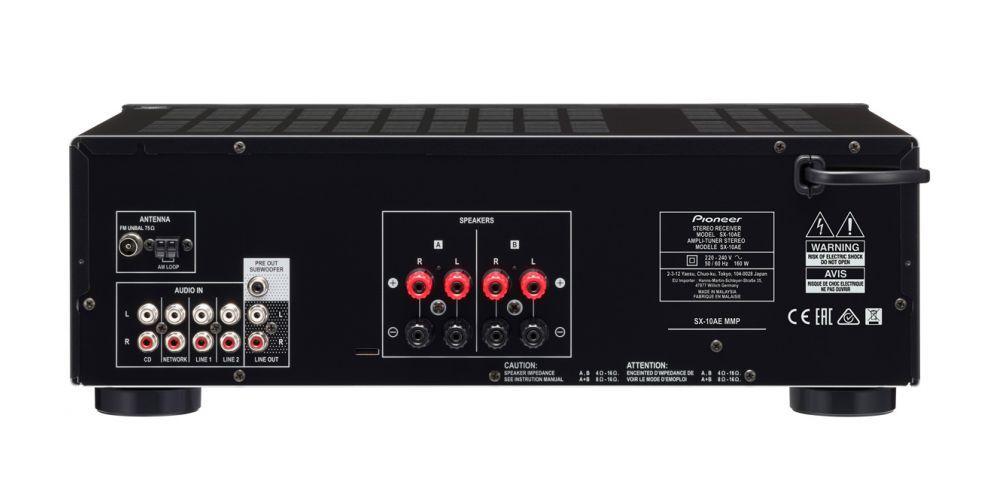 pioneer SX 10AE conexiones