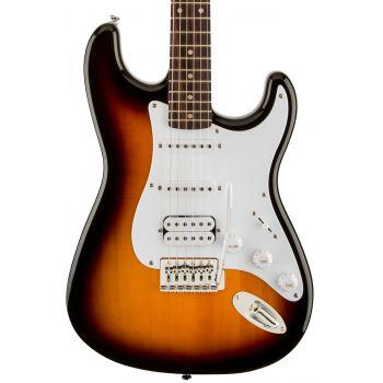 Fender Squier Bullet Stratocaster LRL HSS Brown Sunburst. Guitarra Eléctrica