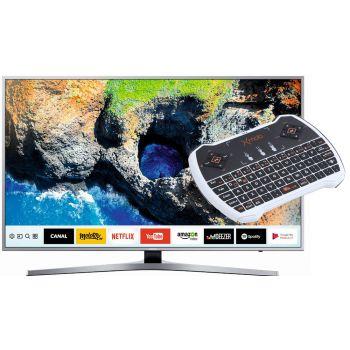 SAMSUNG UE49MU6405 + Teclado / Touch ratón Xmob XPRO para un control más intuitivo del Smart Tv