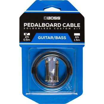 Boss BCK2 Kit Cables de Pedalera sin Soldadura