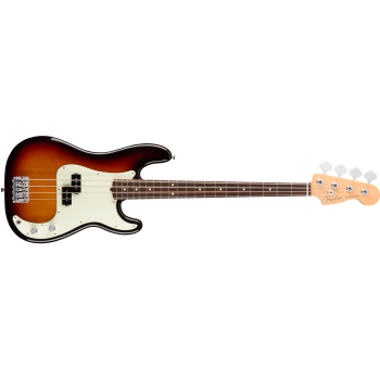Fender American Pro Precision Bass Rosewood Fingerboard 3-Color Sunburst