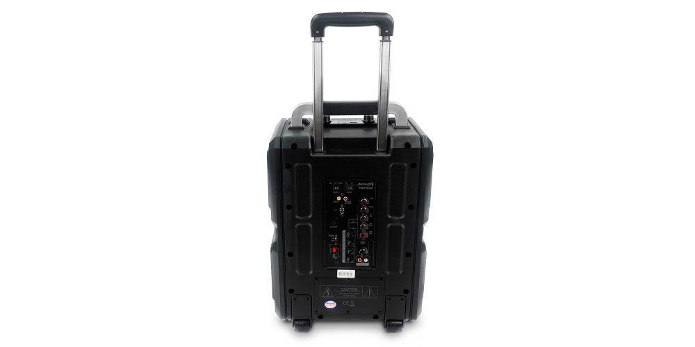 audibax port10vhf black back