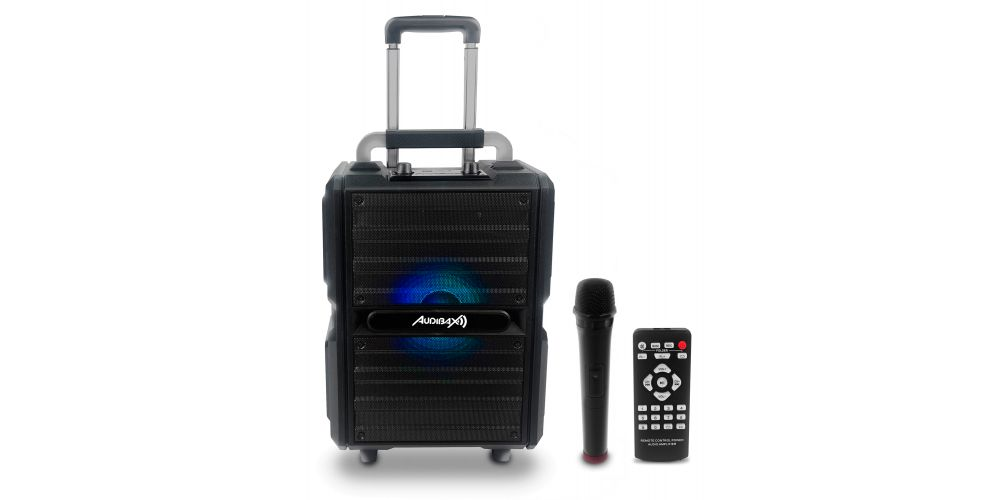 audibax port10vhf black bateria