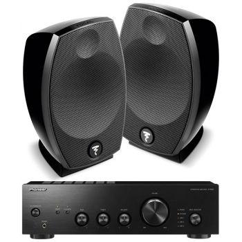 Pioneer A-10AEK-Focal Sib Evo Conjunto Audio