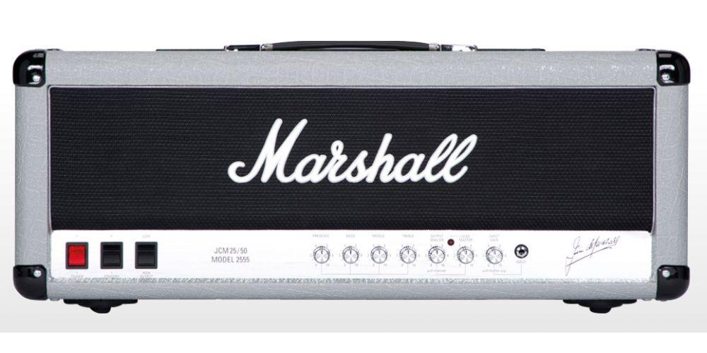 marshall 2555x silver jubilee cabezal guitarra eléctrica