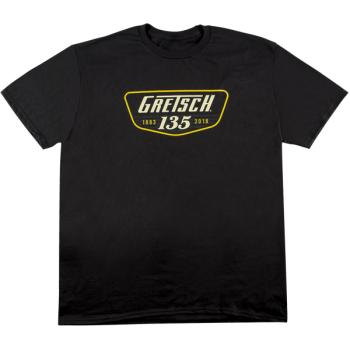 Gretsch 135th Anniversary T-Shirt Black Talla L