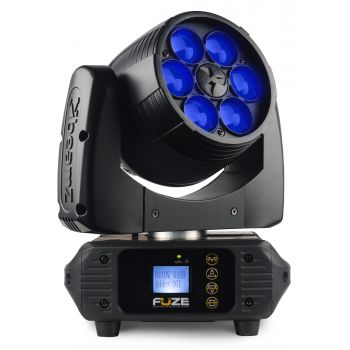 BEAMZ FUZE-610Z Cabeza Movil Wash con Zoom 75W LED 150386