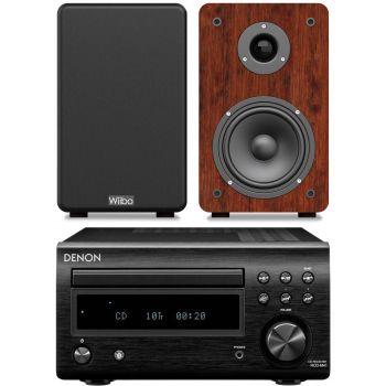 DENON RCDM-41 Negra + Wiibo Karino 200 Conjunto sonido